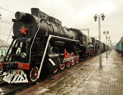 Rizhskaya railway museum
