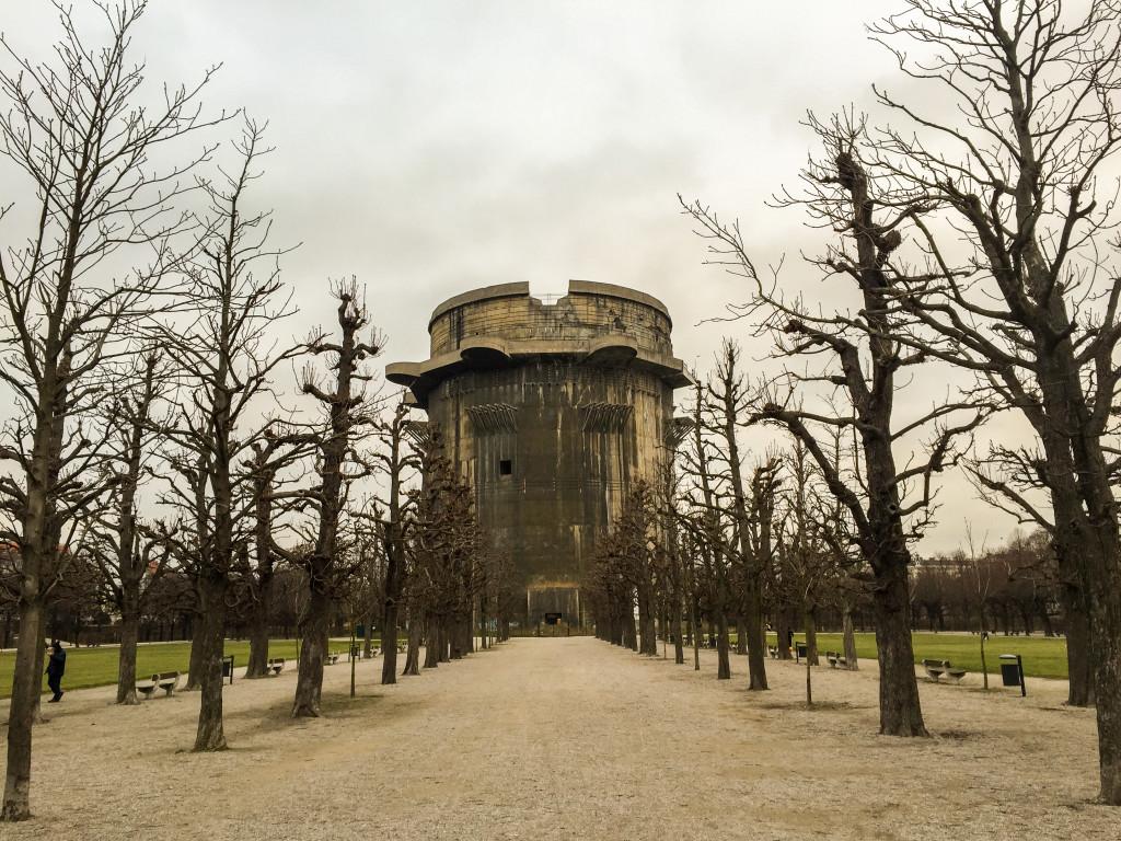 Flakturm VII G-tower - Augarten, Vienna.